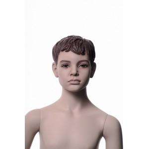 Pojke Albert 8 år skyltdocka skulptur
