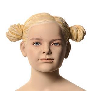 Flicka Alice 6 år skyltdocka skulptur