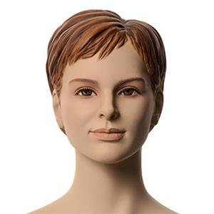 Flicka Janet 12 år skyltdocka skulptur