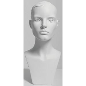 Huvud dam Liv sport skulptur HQ