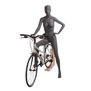 Cykelsport skyltdocka dam