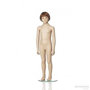 Exklusive 6 år unisex barn skyltdocka Höjd 120 cm