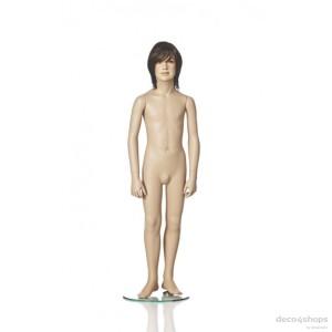 Exklusive 8 år pojke skyltdocka Höjd 130 cm