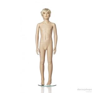 Exklusive 10 år pojke skyltdocka Höjd 140 cm