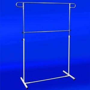 Konfektionsställ för kläder justerbar höjd ST26