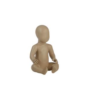 Abstrakt baby skyltdocka höjd 45 cm