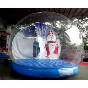 Uppblåsbart stort transparent kupol tält perfekt för event m.m