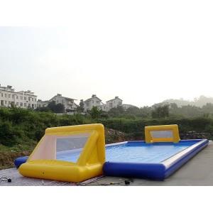 Uppblåsbara fotbollsplan 20 m