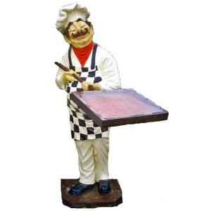 Kock till restauranger pizzerior m.m. 165 cm
